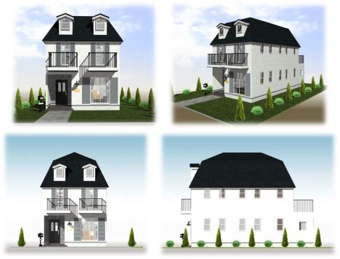 選べる4つの家