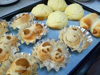 手作りパン。。。