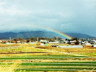 虹のように・・・