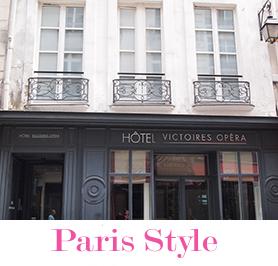 輸入住宅|パリのアパルトマン写真とロゴ